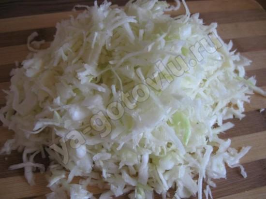 капуста для салата из крабовых палочек