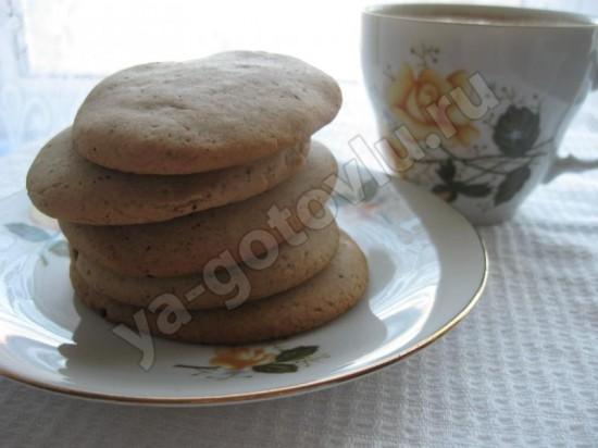 готовое медовое печенье