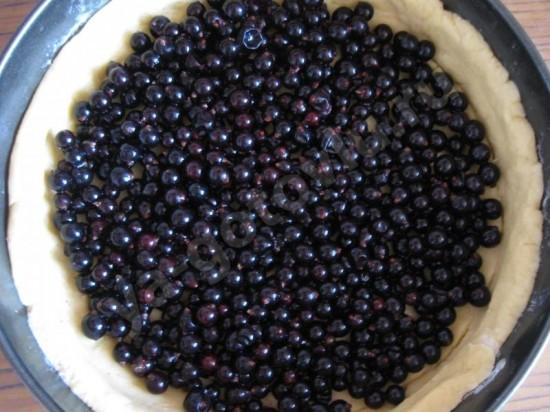 ягоды на тесте