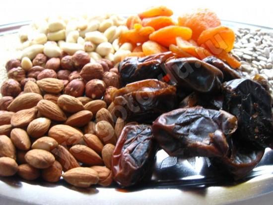 Готовые ингрединты для мюсли