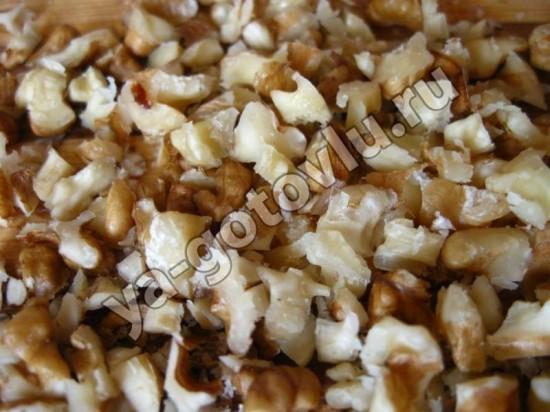 Измельченнй грецкие орехи