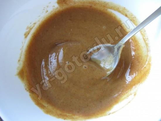 Готовый медово-горчичный соус