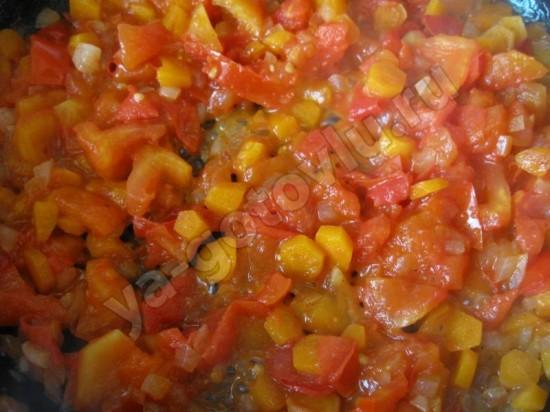 Пассерованые овощи для супа