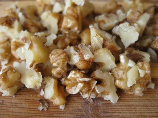 Нарубленные грецкие орехи