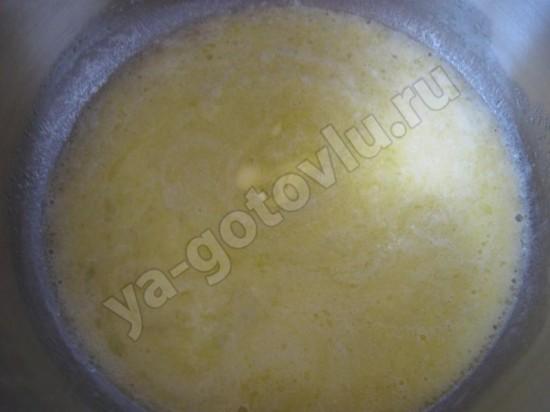 Топленое слтвочное масло