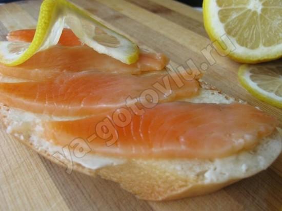 Слабосоленая красная рыба