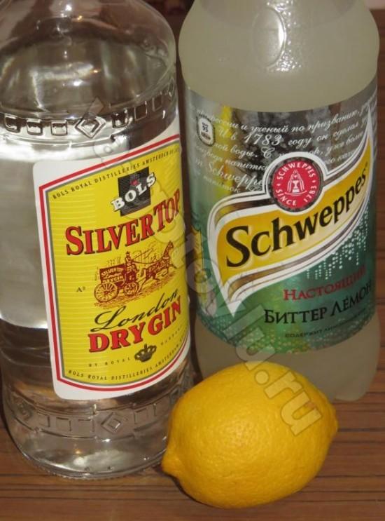 Ингредиенты для джин-тоника