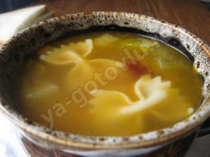 Итальянский суп - минестроне