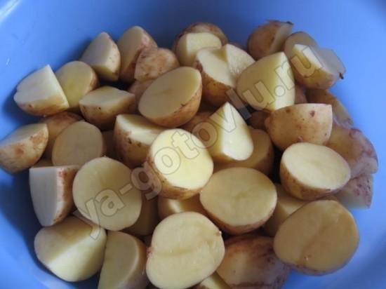 рецепты блюда из молодого картофеля в духовке