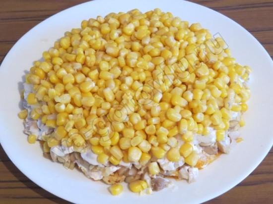 Пятый слой - кукуруза