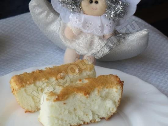 Ангельский бисквит