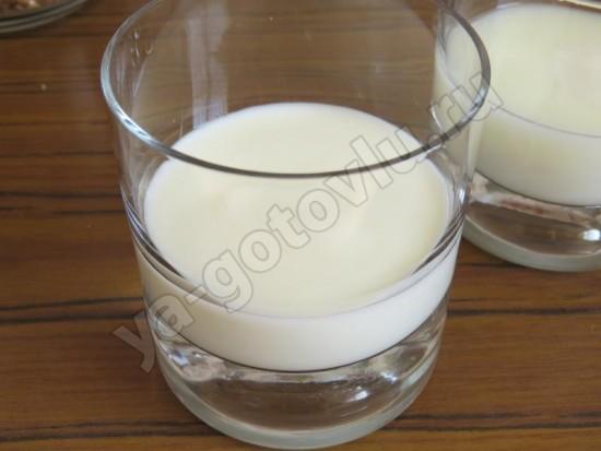 Слой йогурта для парфе