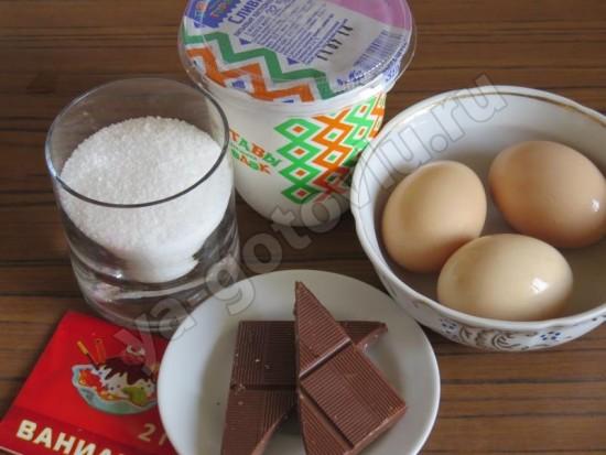 Ингредиенты для семифредо