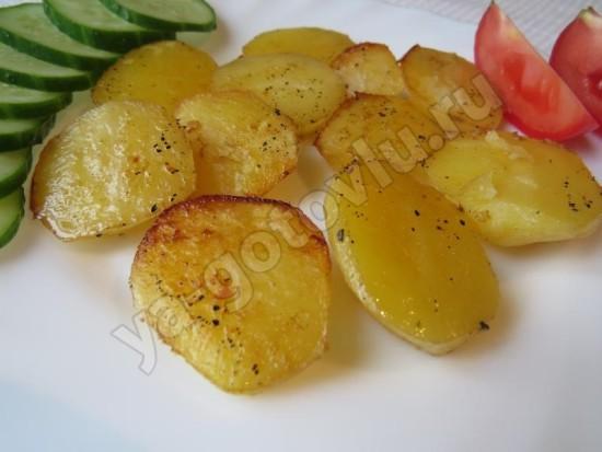 Запеченый картофель